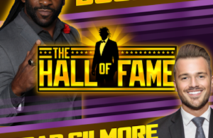 Hall of Fame with Booker T and Brad Gilmore